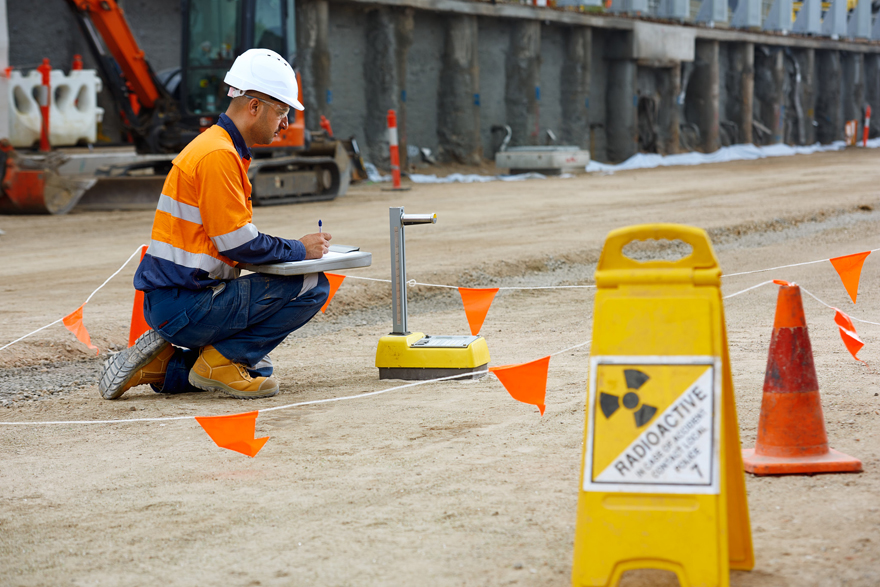 Taking notes as a part of the work for Construction Materials Testing