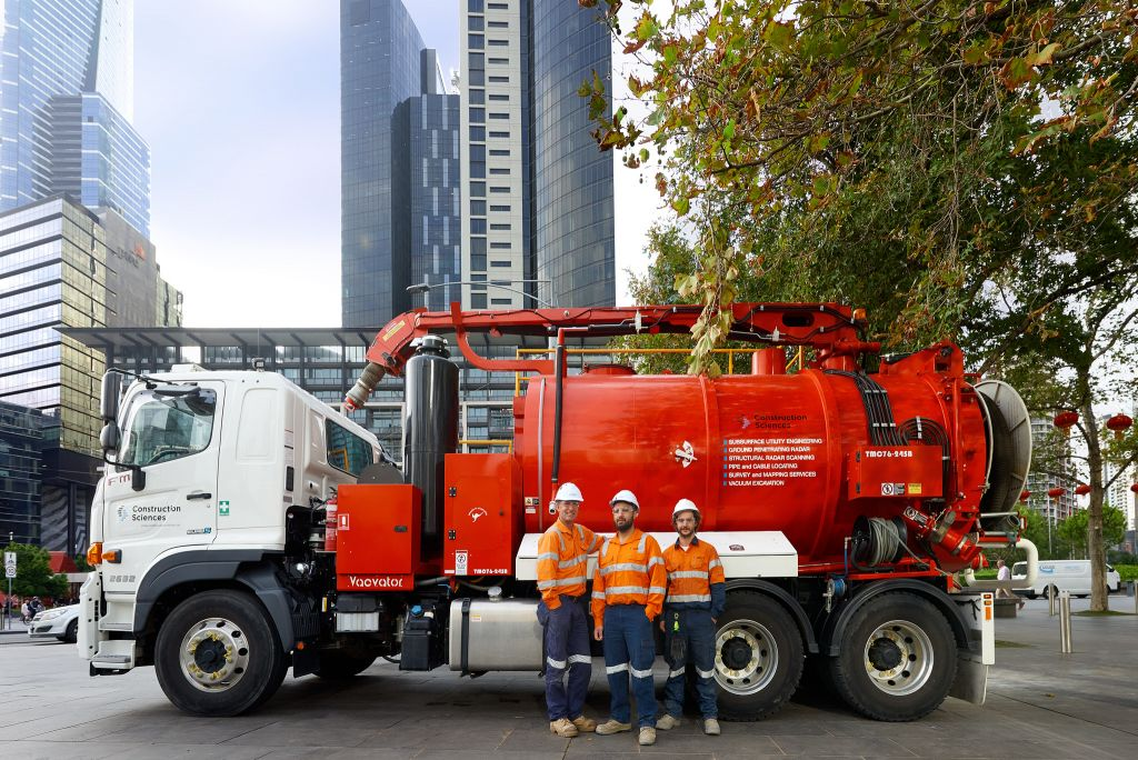Vac Truck for vacunm excuvation
