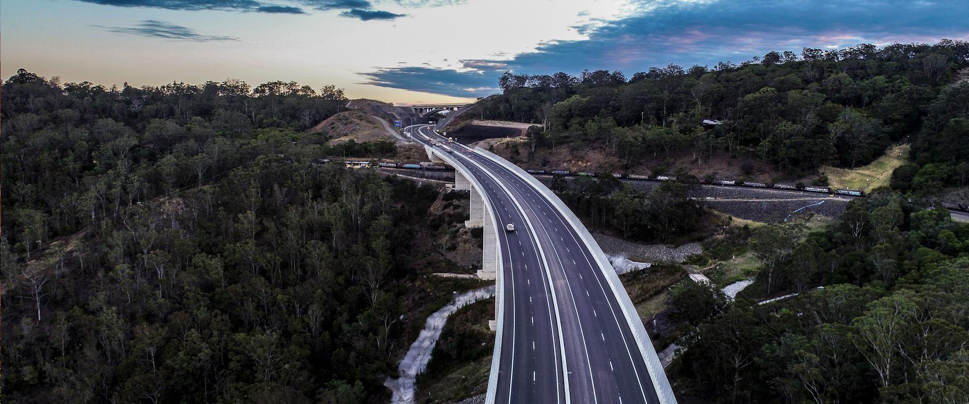 bridge road construction